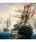 Wall calendar Battleships 2021