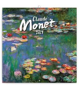 Wall calendar Claude Monet 2021