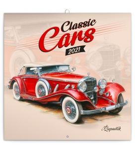 Wall calendar Classic Cars – Václav Zapadlík 2021