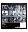 Wall calendar Men 2021