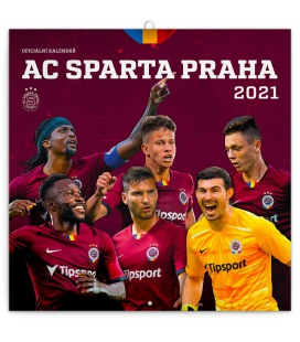 Wall calendar AC Sparta Praha 2021