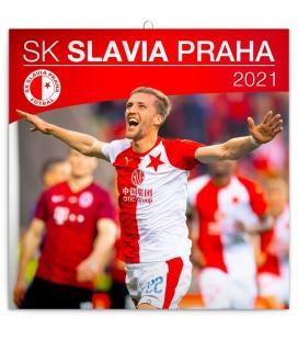 Wall calendar SK Slavia Praha 2021