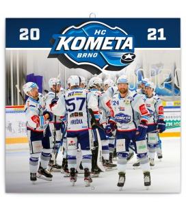 Wall calendar HC Kometa Brno 2021