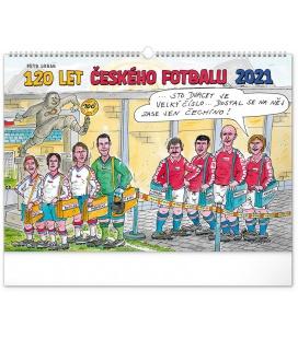Wall calendar 120 Years of Czech Football – Petr Urban 2021
