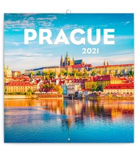 Wall calendar Prague in Summer 2021