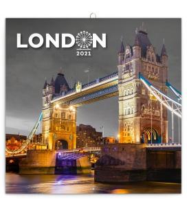 Wall calendar London 2021