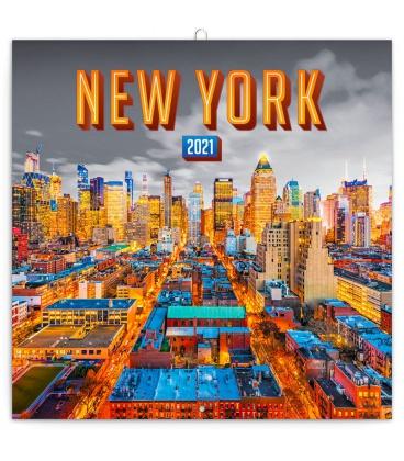 Wall calendar New York 2021