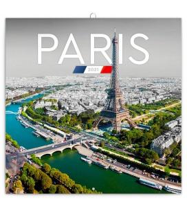 Wall calendar Paris 2021