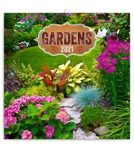 Wall calendar Gardens 2021