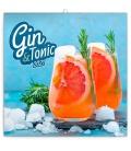 Wall calendar Gin & Tonic 2021