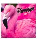 Wall calendar Flamingos 2021