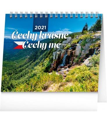 Table calendar My Beautiful Czechia 2021