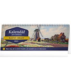Table calendar For the elderly 2021