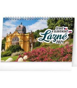 Table calendar Czech Spa 2021