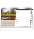 Table calendar Castles 2021