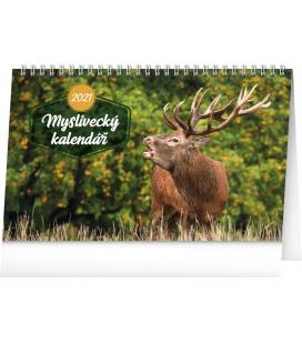 Table calendar Hunting 2021