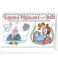 Table calendar Words of Wisdom 2021 – Kamila Skopová, 23,1 × 14,5 cm