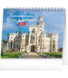 Table calendar Czech Republic and Moravia 2021