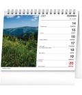 Table calendar Czech Mountains 2021