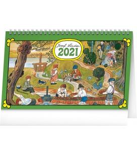 Table calendar Josef Lada – In the Countryside 2021