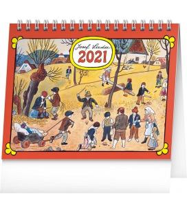 Table calendar Josef Lada – On the Field 2021