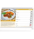 Table calendar Home Cookbook 2021