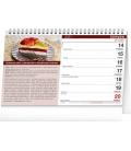 Table calendar Cakes 2021