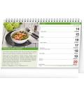 Table calendar Healthy Food 2021