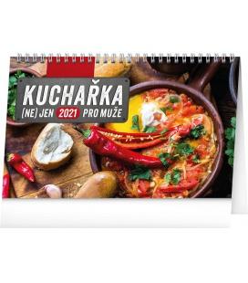 Table calendar Cookbook for Men 2021