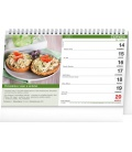 Table calendar Quick Recipes 2021
