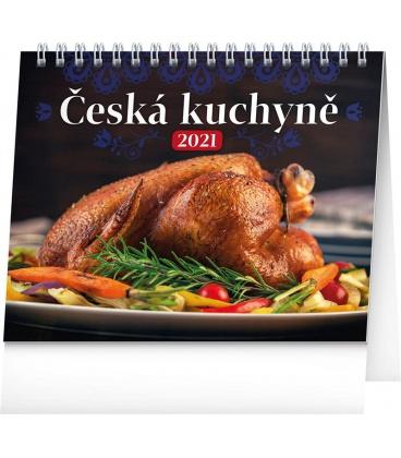 Table calendar Czech Cuisine 2021