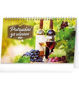 Table calendar Wine Destinations 2021