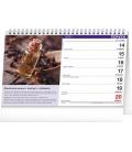 Table calendar Herbs and Tea 2021