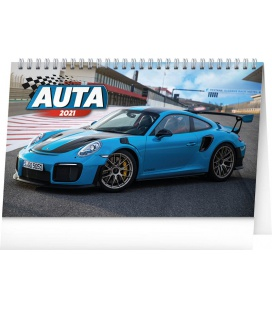 Table calendar Cars 2021
