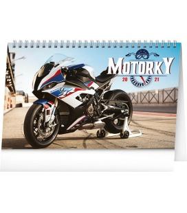 Table calendar Bikes 2021