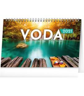 Table calendar Water CZ/SK 2021