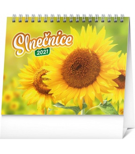 Table calendar Sunflower planner with quotes SK 2021