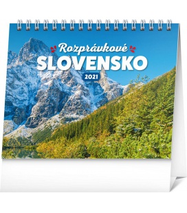 Table calendar Slovak Scenic Beauty 2021