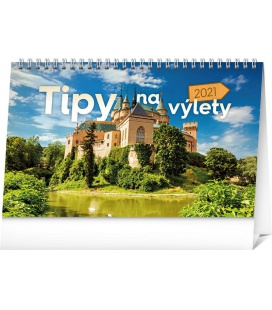 Table calendar Travel Tips SK 2021