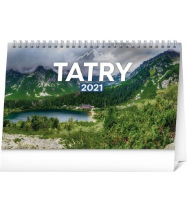 Table calendar Tatras 2021