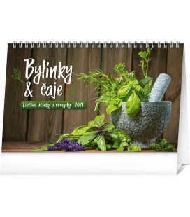Table calendar Herbs and Tea SK 2021