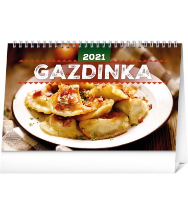 Table calendar Home Cookbook SK 2021