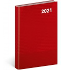 Daily diary A5 Cambio Classic red 2021
