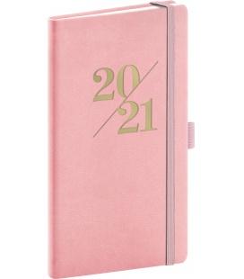 Weekly pocket diary Vivella Fun pink 2021