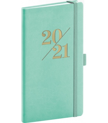 Weekly pocket diary Vivella Fun turquoise 2021
