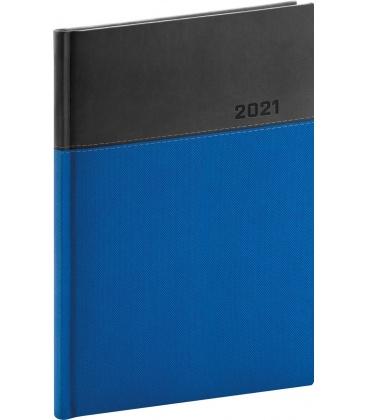 Daily diary A5 Dado blue, black 2021