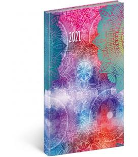 Weekly pocket diary Cambio Fun - Mandala 2021