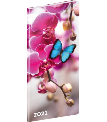 Monthly Pocket Diary planning Butterflies 2021