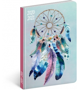 Weekly diary B6 18month Petito diary Dream Catcher 2020/2021