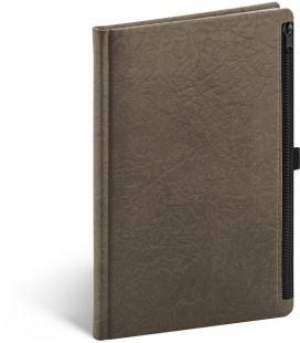 Notebook A5 Hardy, brown, lined 2021